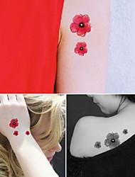 Tatuaggi adesivi - Altro Bambino/Da donna/Girl/Da uomo/Adulto/Boy/Teen - 3 - Modello - di Carta - 6*5 - Oro -Non Toxic/Fantasia/Fascia
