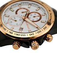 EASMAN Brand Watch Men Sport Sports Japan Quartz Watch Solid Brush Steel Multifunction Chronograph Wristwatches