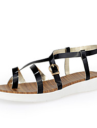 Women's Shoes Platform Platform/Slingback Sandals Dress/Casual Black/Silver/Gold