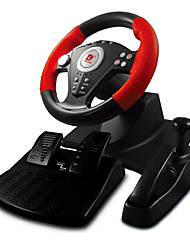 DILONG  P3808 PS3/PS2/USB Computer Simulation Driving Car Speed Racer Three Double Game Steering Wheel Vibration