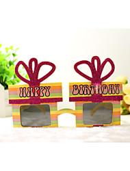 pc grappige verjaardag geschenkdoos geek&chique party bril
