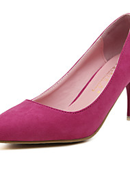 2015 Europe And The US Popular High Heels Shoes Woman Candy Color Swede Leather Pointed High-heeled Shoes Top
