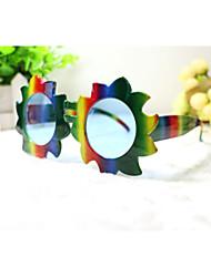 pc grappige zonnebloemen geek&chique party bril