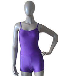 Nylon/Lycra Camisole Leotard with Shorts  More Colors for Girls and Ladies