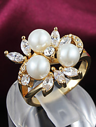 Party Gold Plated Statement Ring Best-selling Jewelry Trendy Rings Engagement Rings