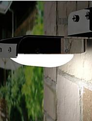 hry® 16LEDs blanco de luz de color AUTT-luz en la noche de la lámpara de pared solar luces solares