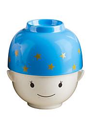 un couple de bol avec couvercle poupée Nachuan bol mélamine belle bol pour seul paquet (a0174-s)