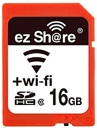 Ez Share 16GB Class 10 SD/SDHC/SDXC / Wireless StorageMax Read Speed30mb/s (MB/S)Max Write Speed10mb/s (MB/S)