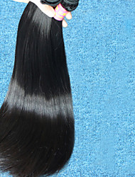 "3 Pcs Lot 8""-28""Brazilian Virgin Hair #1B Straight Human Hair Brazilian  Hair Wholesales Price"