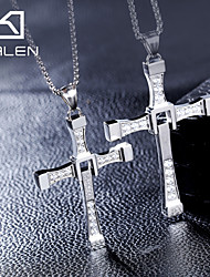 Women's Statement Necklaces Cross Silver Movie Jewelry Luxury Jewelry For
