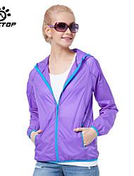 Outdoors Women's Windproof Sport Outerwear Jackets Coat Windbreak Waterproof Hiking Jackets Nylon Sunscreen UV
