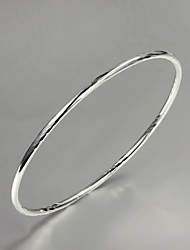 Big Promotion Party/Work/Casual Silver Plated Cuff Bracelet Simple Design