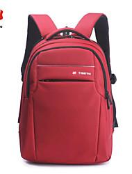 Mochila - Portátil de 15 Pulgadas (38 cms) - Poliéster / Nailon - Rojo - Unisex
