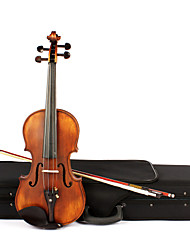 ASTONVILLA 4/4 Spruce Wood Wood Color Matte Retro Violin AV-10