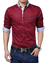 5xl printemps 2014 casual fashion camiseta ropa masculino camisa masculina sociale homme chemise hombre hommes chemise S044