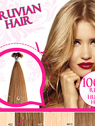 Light Color Pre-bonded U Tip/ Nail Tip 100% Russian Remy Human Hair Ty.Hermenlisa