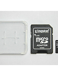 Kingston Digital 64GB Class 10 Micro SD  And The Memory Card And The Memory Card Adaptor Box