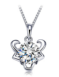 V8 Women's 925 Silver High Quality Constellation Necklace(Taurus)