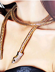 New Arrival Fashional Hot Selling Popular Long Snake Necklace