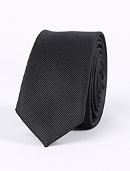 TheMan's Black Ties Narrow