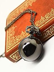 reloj de bolsillo de metal de arma