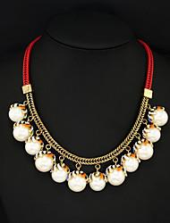 Повседневная - Короткие ожерелья (Акрил)