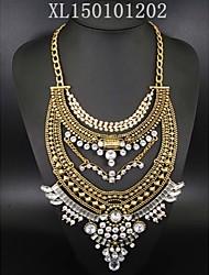 Work/Casual Alloy/Cubic Zirconia Pendant Necklace