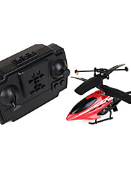 HX720 2-Channel Mini Remote Control Aircraft with Gyro - Red