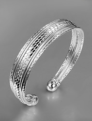 Hot Sale Party/Work/Casual Silver Plated Cuff Bracelet High-quality Fine jewelry