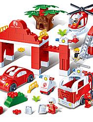 огонь сцена в бутылках 9637 Основная пластиковые блоки babychildren от ранних разведки игрушки