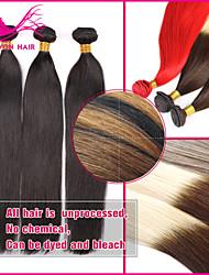 3Pcs Lot Best Selling Unprocessed Wholesale Virgin Brazilian Hair Color #1B