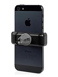 coche soporte portátil, el titular del teléfono celular de salida, soporte para teléfono celular de 360 grados 3.5-6inch soporte