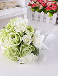 Light Greeen Rose Flower Bride Bridal Wedding Bouquets for Wedding