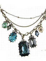 Nuoqi Fashional Popular Retro Crystal Necklace