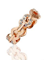 Fashion set auger smooth rings