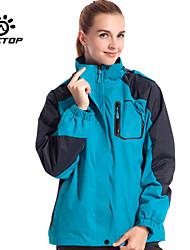 Outdoors Women's Polyester Windproof Sport Outerwear Jackets Coat Windbreak & Waterproof Hiking Jackets