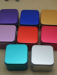 Square Frosted Candy Boxes (Set of 6 Optional Colors)