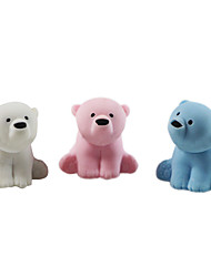 Lovely Polar Bear Assemble Rubber Eraser (Random Color)