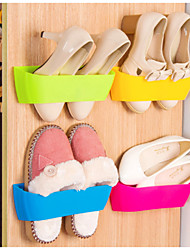 One PCS Fashion DIY Multi-function Wall Hanging Type Storage Shoes Rack & Hanger 25.5*6.5*7.7 CM