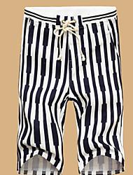 Shorts ( Multi-color , Baumwolle ) - für Freizeit - für MEN - Streifen