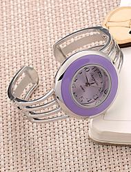 Ladies' Good Quality of Steel Strip Shaped Bracelet Watch Quartz Watch