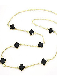 New Arrival Fashional Hot Selling Popular Clover Necklace