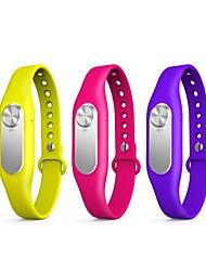 nova moda estilo bracelete unissex com gravador de voz digital (16gb) multicolor