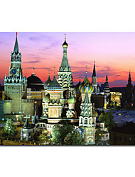Architecture Canvas Print Giclee Print One Panel Unframed