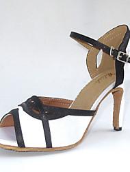 Женская обувь - Атлас Белый/Другое ) - Латино/Сальса/Обувь для стандартной программы