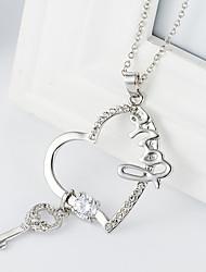 Form the key pendant xinyu necklace
