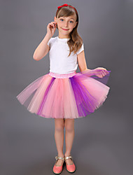 Puff Skirt  Tutu Skirt  Children's Yarn Skirt  Dance Tutu Dress  Princess Tutu Skirt  Rainbow Colorful Tutu Skirt Kids Dance Costumes