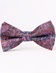 Petals Jacquard Men Bow Ties