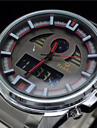 Men's Brand Watches Fashion Full Steel Waterproof Sports Watch Digital Quartz Wristwatches (Assorted Colors)