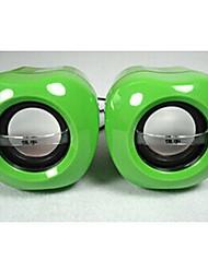 Allspark mini-sistema de colunas multimédia maçã ® (verde)